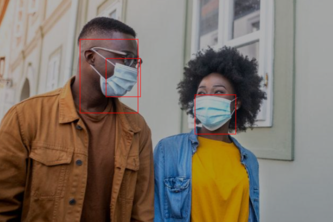 Mask Detection and Social Distance Classifier