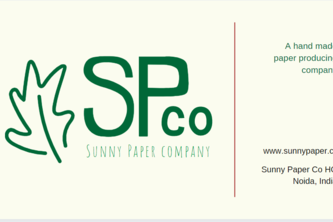 Branding Concept : Business card for Paper company