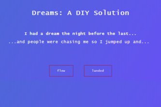 Dreams: A DIY Solution