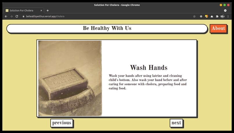 Be Healthy With Us – screenshot 7
