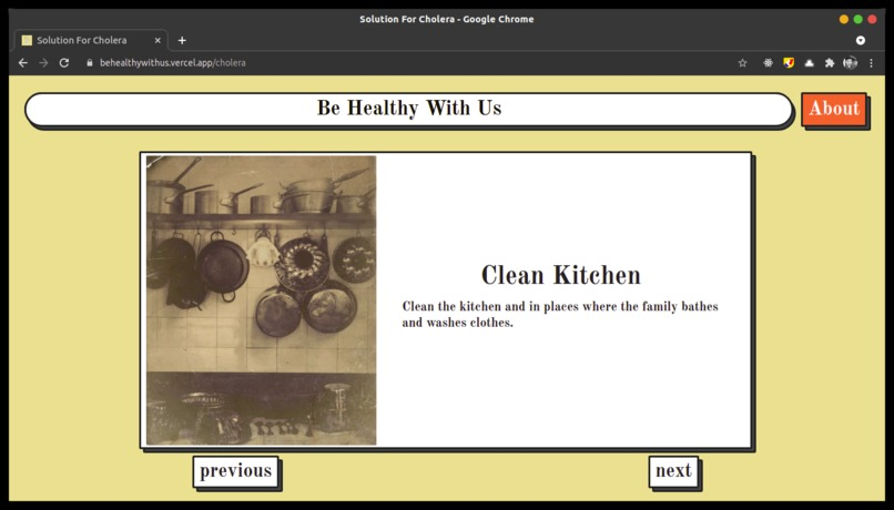 Be Healthy With Us – screenshot 5