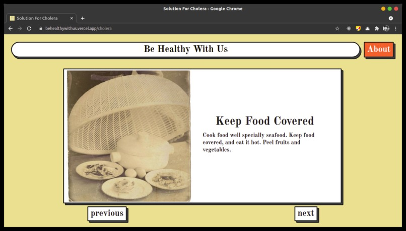 Be Healthy With Us – screenshot 4