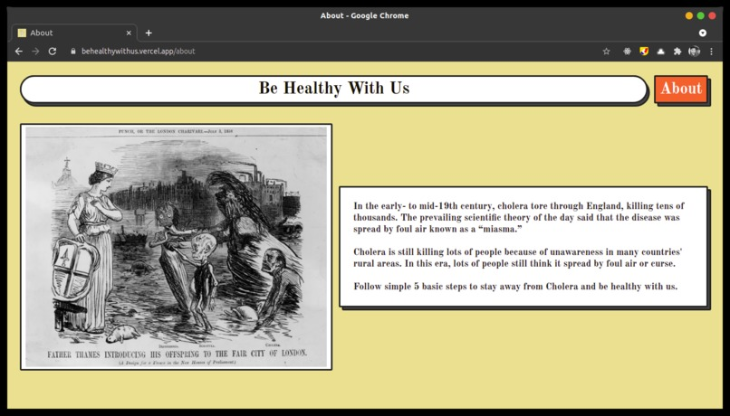 Be Healthy With Us – screenshot 2