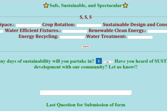 Safe, Sustainable, and Spectacular