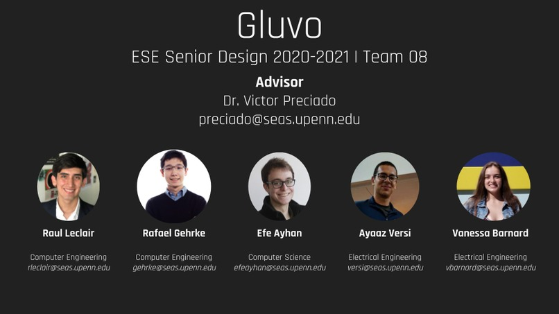 Gluvo - Team 08 – screenshot 1