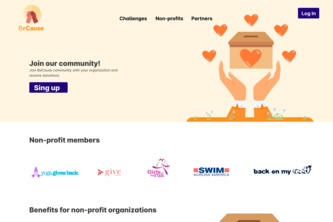 BeCause - Fundraising powered by Community Challenges