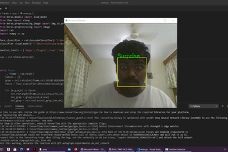 REAL TIME FACE EMOTION DETECTION