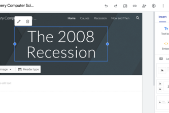 The 2008 Recession FINANCE Project