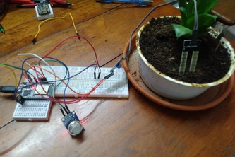 Smart IOT Plant Monitoring System with Live Dashboard