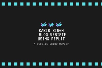 Build and Host a Personal Website using Replit