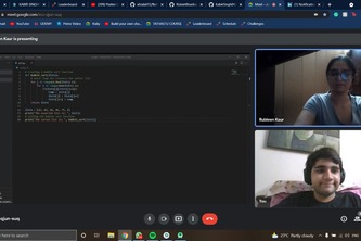 Paired Programming Session with Another Hacker