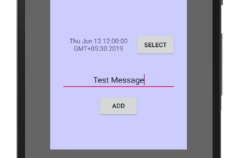 Create a Reminder Application