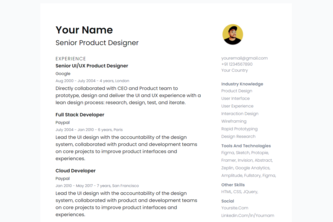 made a resume web app with my friend
