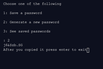 Password Manager With Encryption