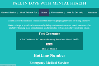 Fall  In Love With Mental Health