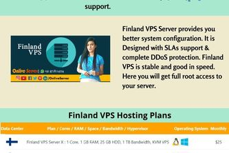 Get Authentic VPS Hosting in Finland By Onlive Server
