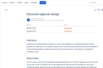 Document approver