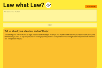 [WWT LLP] Law what Law?