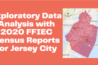 Exploratory Data Analysis with FFIEC Reports for Jersey City