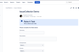 IssueCollector for Confluence Cloud