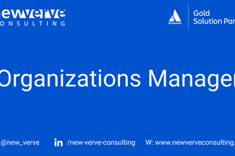 Organizations Manager