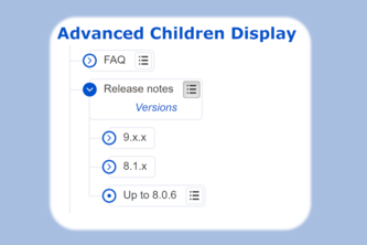 Advanced Child Display macro for Confluence Cloud