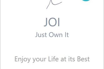 JOI - Just Own It