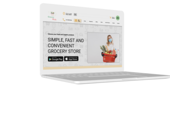 Grocery Site Landing Page