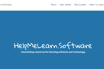 HelpMeLearn.Software