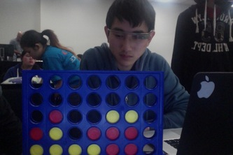 Connect 4 AI CV For Glass