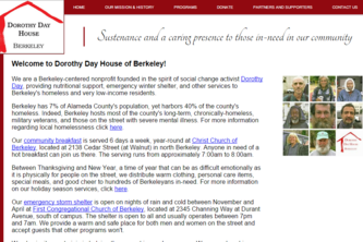 Dorothy Day House Website