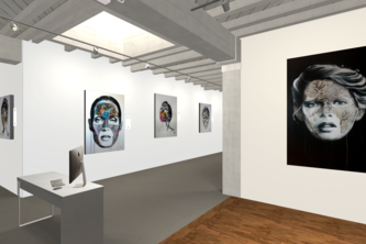 Virtual Reality art gallery