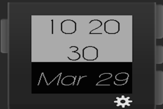 Pebble Steel Watch Face