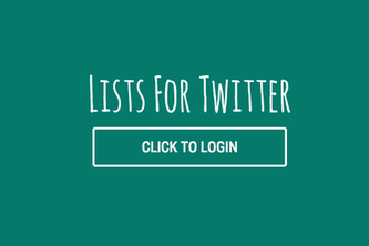 Lists for Twitter