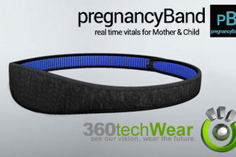 pregnancyBand, e-wearable & e-textile,  VOTE Today