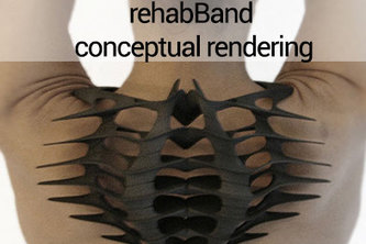 rehabBand e-textile product for medical & personal use