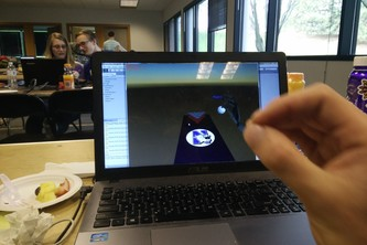Leap Motion Beer Pong