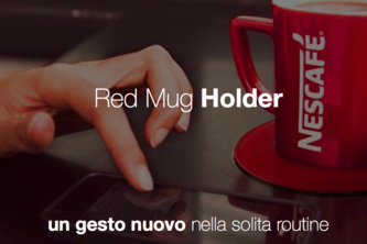 Nescafriends Mug Holder + App (H-ack-Food 2014 winner)