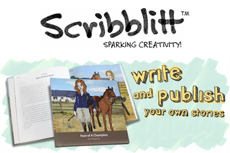 Scribblitt App - tools for kids to write/publish books