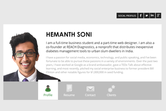 Hemanth Soni - Personal Website