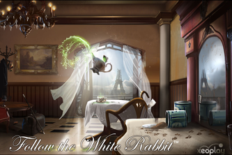 Follow the White Rabbit a VR Mystery