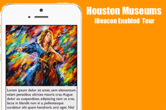 Houston Museum iBeacon Enabled Tour iPhone Application