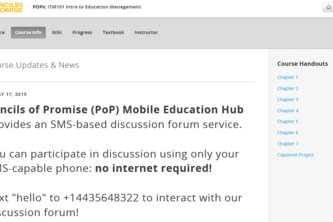 Pencils of Promise Mobile Education Hub