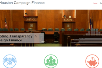 City of Houston Campaign Finance
