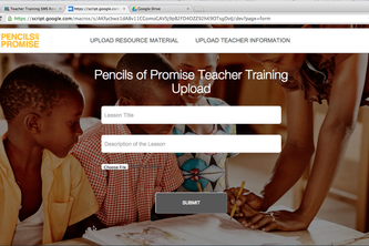 Teacher Training SMS Resource Alert App