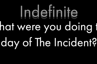 Indefinite: Interrogation Game