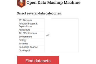 Open Data Mashup Machine