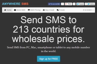 Anywhere SMS