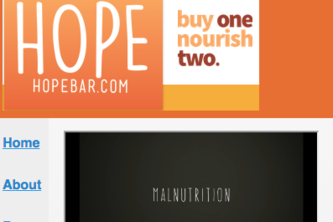 Hope Bar Mobile Web App