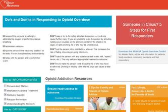 Smart Response for Opioid Addiction